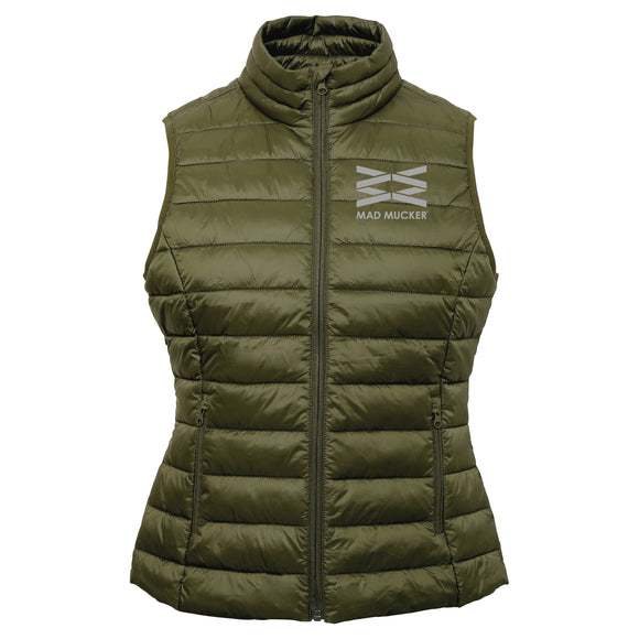 Martha Body Warmer - Olive