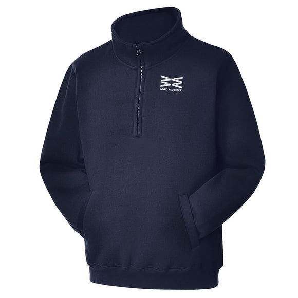 Altair 1/4 Zip Heavyweight Sweatshirt - Navy