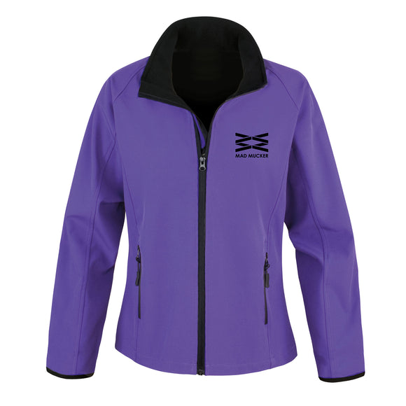 Maia Soft Shell Jacket - Purple
