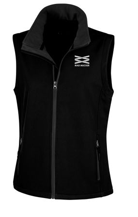 Mitzi Soft Shell Gilet- Black