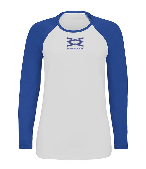 Bree Baseball Top - Royal Blue