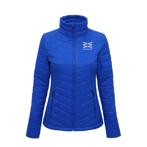 Ursula Padded Jacket - Royal Blue