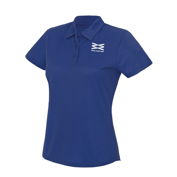 Polly Sports Polo - Royal Blue