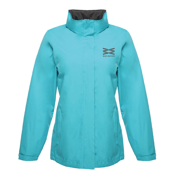 Grace Showerproof Jacket - Aqua Blue
