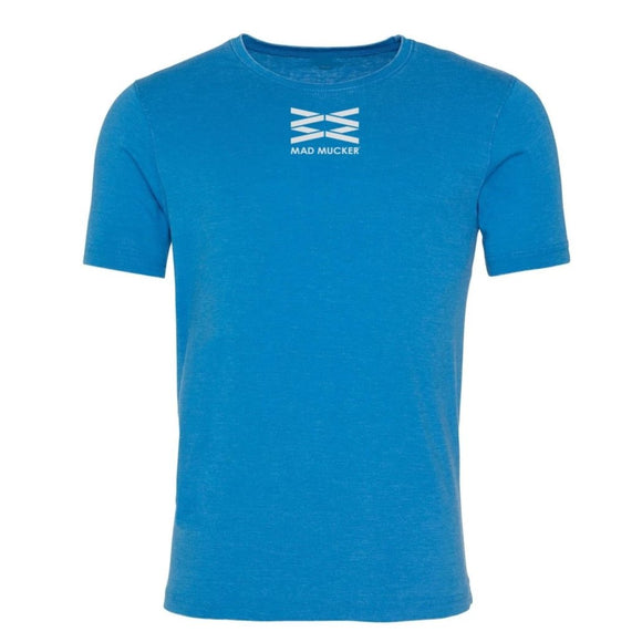 Arkle Washed T-Shirt - Sapphire Blue