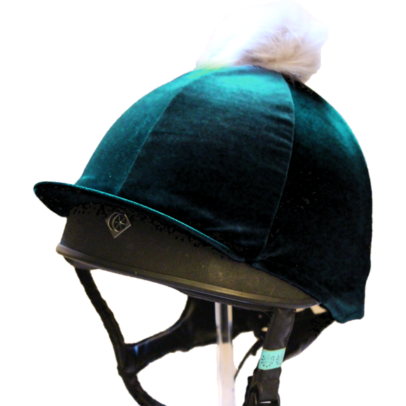 Olivia Hat Cover - Deep Teal