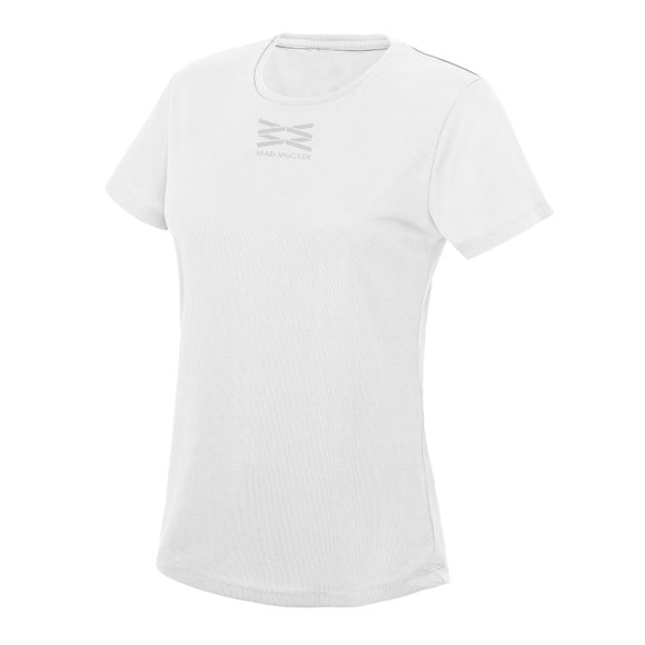 Layla Sparkles - White (Short Sleeve)