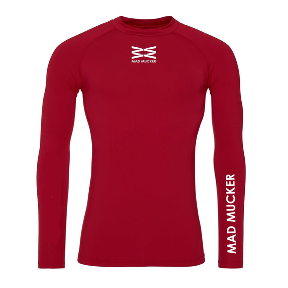 Kaelan Base Layer - Red/White