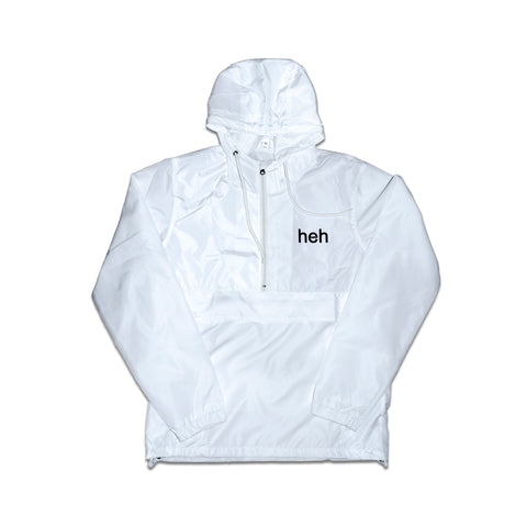 White Fanorak Anorak heh Jacket
