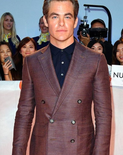 Celebrities in Canali Clothing