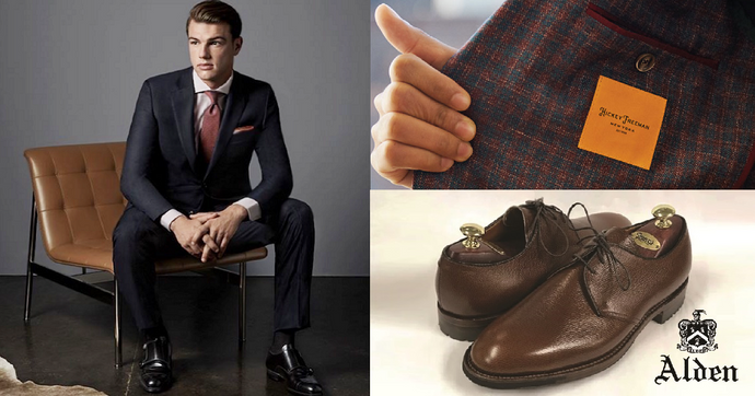 November 15 & 16th: Hickey Freeman Clothing and Alden Shoes Trunk Show