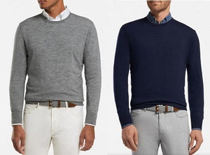Peter Millar goes high-tech with spring sweaters
