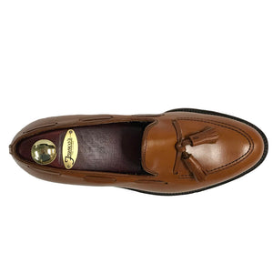 Alden Tassel Loafer | Tan