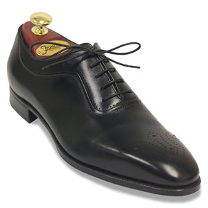 Gravati Medallion Toe Oxford  | Black