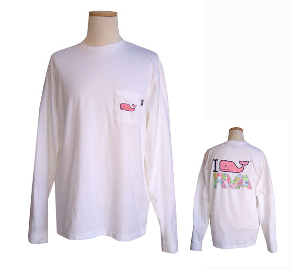 Vineyard Vines Long Sleeve RVA Custom T