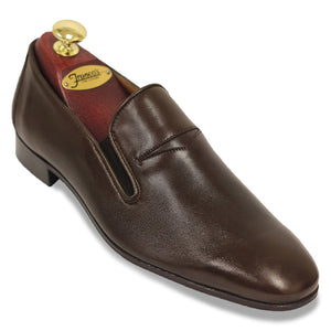 Gravati Plain Toe Soft Penny | Brown