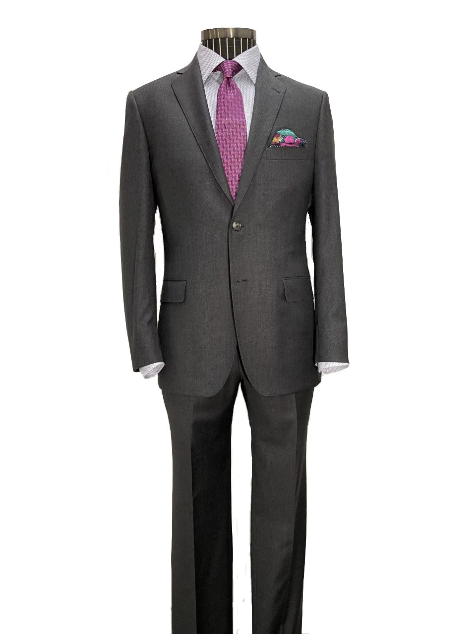 h by Hickey Freeman h by Hickey Freeman H Suit-Charcoal