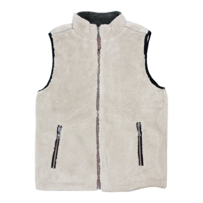 TRUE GRIT Pebble Pile Double Up Vest