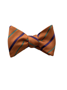 Carrot & Gibbs Orange with Green and Purple Stripes