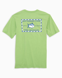 Southern Tide Original Skipjack Short Sleeve T-Shirt - Green Tea