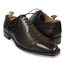 Romano Martegani Perforated Cap Toe - Dark Brown