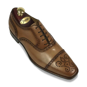 Romano Martegani Perforated Cap Toe - Tan