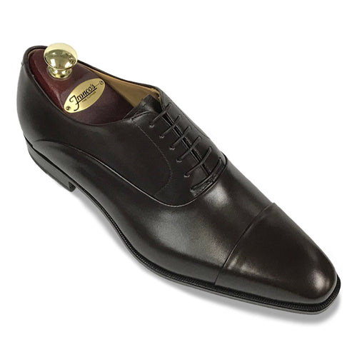 Romano Martegani Folded Cap Toe - Dark Brown