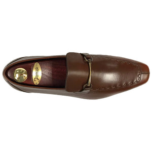 Romano Martegani Dress Bit Loafer - Brown