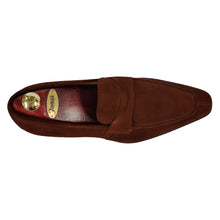 Romano Martegani Suede Dress Loafer - Brown
