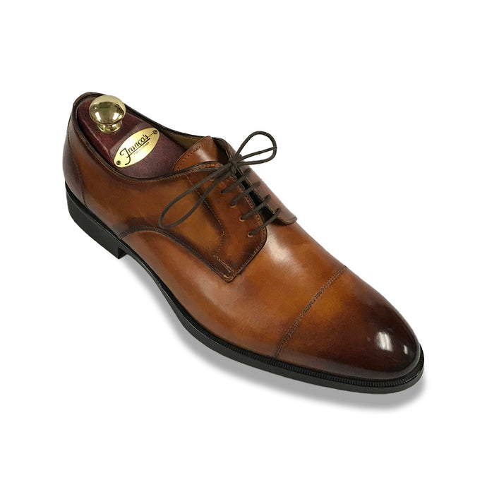 Di Bianco Captoe Burnished | Cognac