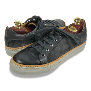 Di Bianco Velour/Deco Sneaker - Gunmetal Grey