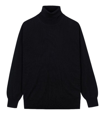 Alan Paine Linton Merino Wool Turtle Neck