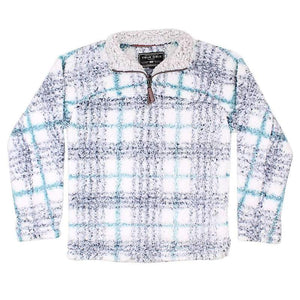 TRUE GRIT Quarter Zip Frosty Taos Pullover