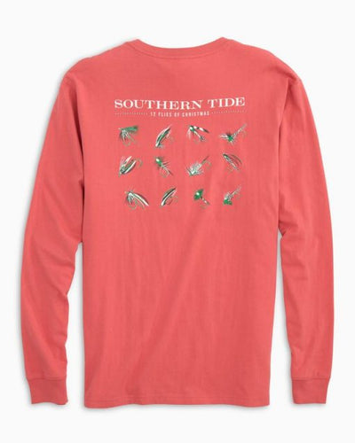 Southern Tide Twelve Flies of Christmas-Red
