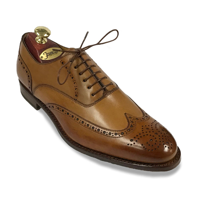 Romano Martegani Burnished Wing Tip - Walnut