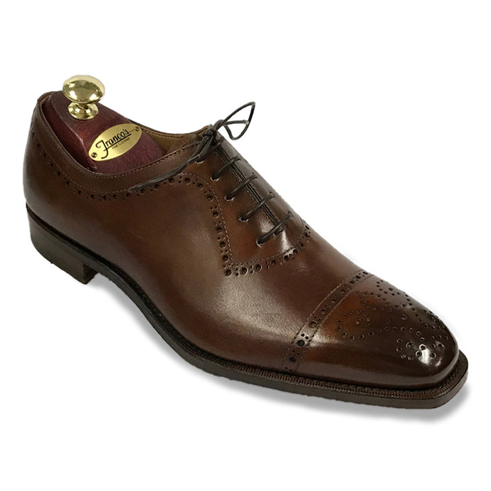Romano Martegani Perforated Cap Toe - Chili