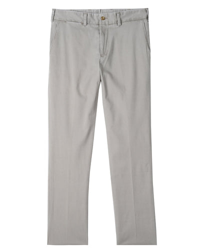 Bills Khakis Straight Fit T400 Performance Twill Pant | Oyster