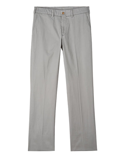 Bills Khakis Straight Fit Stretch Sateen Pant | Light Gray