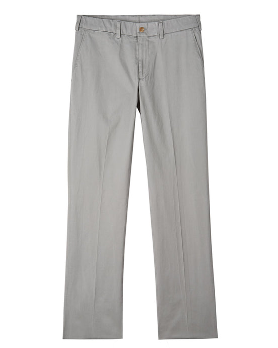 Bills Khakis Straight Fit Stretch Sateen Pant – Light Gray