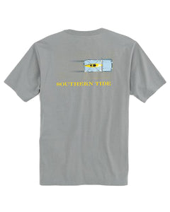 Southern Tide Jeep Tee |  Grey