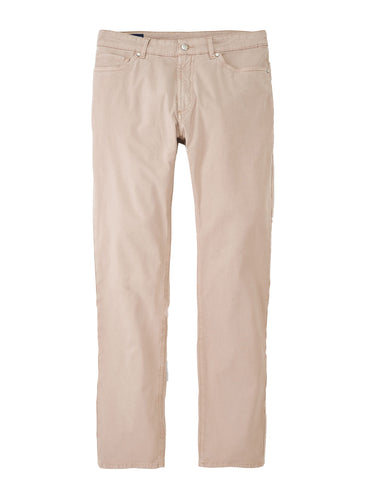 Peter Millar Collection Wayfare Five-Pocket Pant- Khaki