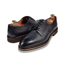 Di Bianco Scotch Grain Lace-Up - Navy
