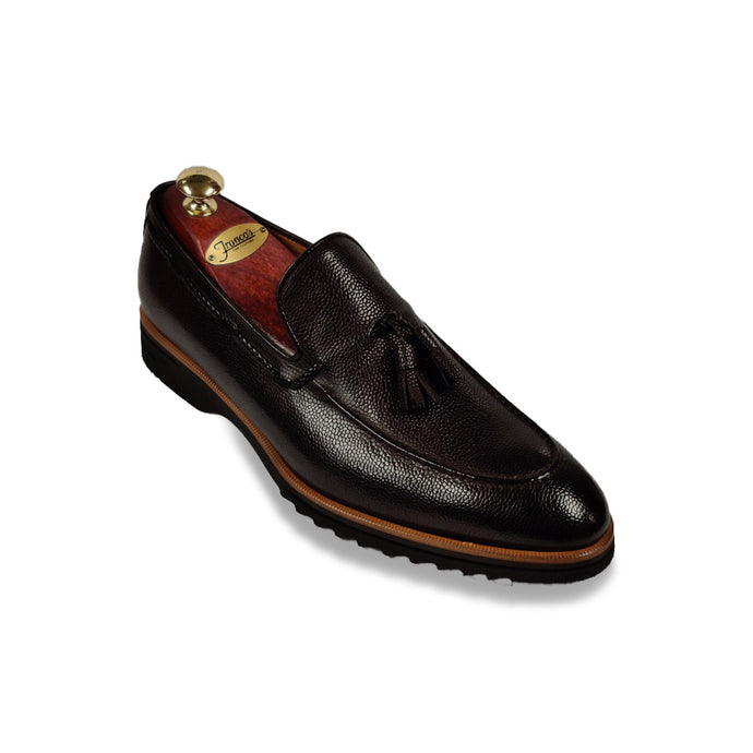 Di Bianco Tassel Loafer | Black