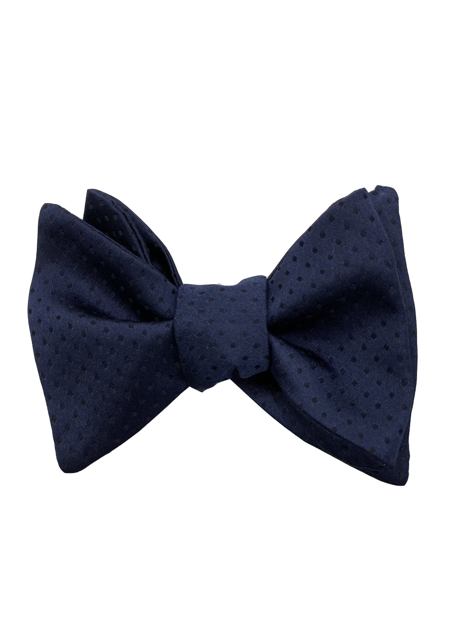Carrot & Gibbs Navy with Black Pin Dots