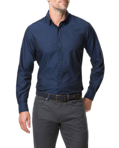 Rodd & Gunn Glenpark Sports Fit Shirt - Midnight