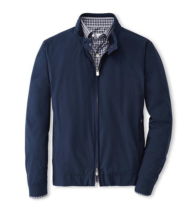 Peter Millar Crown Soft Bomber | Navy