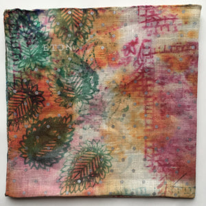 Eton Watercolor Abstract Pocket Square