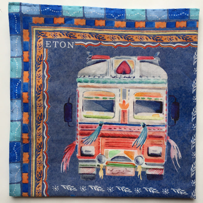 Eton Truck Pocket Square