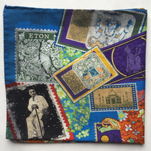 Eton Stamps Pocket Square
