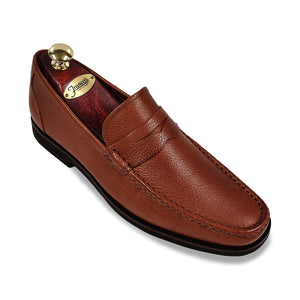 Peter Millar Hyperlight Penny Loafer | Bourbon